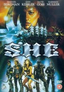 She - this poster is so metal even Manowar is jealous