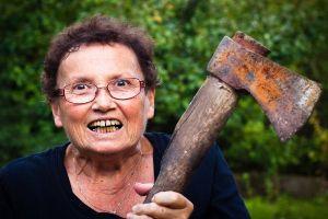 granny needs her pills